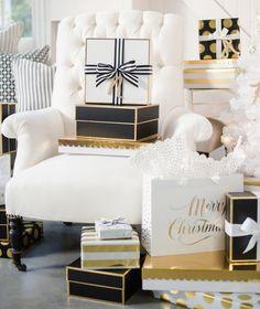 Christmas,Black, White/Silver,Gold,