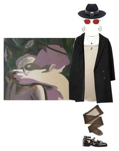 """""""looking for"""" by flowertattoo ❤ liked on Polyvore featuring Lanvin, Charlotte Russe, Les Prairies de Paris and Gucci"""