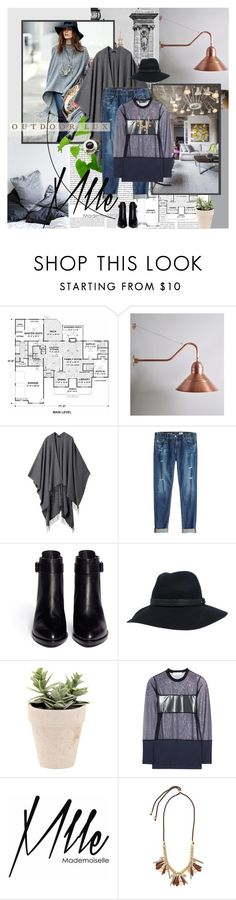 """""""Olivia Palermo"""" by rainie-minnie ❤ liked on Polyvore featuring Oris, The Row, AG Adriano Goldschmied, Alexander Wang, rag & bone, Toga, SOREL, Mlle Mademoiselle and J.Crew"""