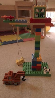 I'm In Here Somewhere: Duplo Vs Toddler #LegoDuploParty