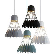 Online Shop Nordic simple bar hanging lamp Badminton Pendant Light restaurant, bedroom, bedside lights, modern art and creative lighting | Aliexpress Mobile