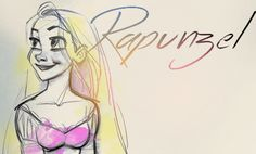 Rapunzel - disney-princess Fan Art