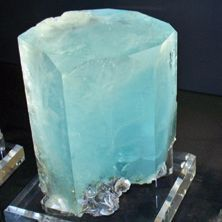 Calcite with crystals on the edges....
