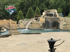 Here is a Great looking project featuring a Paradise Slides, Inc. #WaterSlide Model PS35R-C. Fantastic Job Elite Outdoor Living LLC @eliteoutdoorlivingllc #PoolSlide #ResidentialWaterSlide #WhatsInYourBackyard! Water Slides, Pool Slides, Your Back, Can Design, Outdoor Living, Yard, Outdoor Life, Patio, Yards