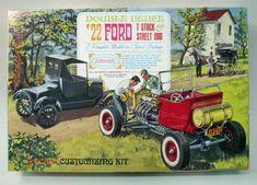Vintage Model Box Art - Kid Again - Fosil Fueled - Fosil Fueled Vintage Models, Old Models, Vintage Toys, Toy Trucks, Monster Trucks, Model Cars Building, Diesel, Best Car Insurance, Plastic Model Cars