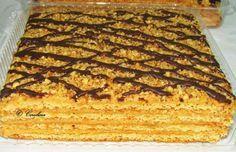2 Cred ca putini sunt cei ce nu au auzit de Dort Marlenka! Varianta clasica! Miere, lapte, caramel, nuci, ciocolata! Pentru cei ce nu cunosc inca povestea acestei prajituri minunate traditionala … Romanian Desserts, Romanian Food, Torte Cake, Food Cakes, Food Festival, Diy Food, Banana Bread, Food To Make, Cake Recipes