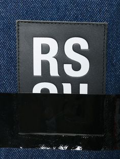 Achetez Raf Simons chemise oversize à appliqué.