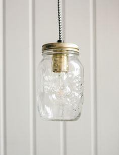 Preserve Jar Pendant Light at Rose and Grey
