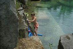 Limestone quarry Limestone Quarry, Indiana, Growing Up