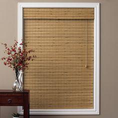 arlo blinds tuscan bamboo 54inch long roman shade by arlo blinds - Bamboo Window Shades