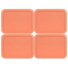 Pyrex 7210PC Rectangle 3 Cup Storage Lid for Glass Dish 4 Bahama Orange 4 Bahama Orange *** You can find out more details at the link of the image.