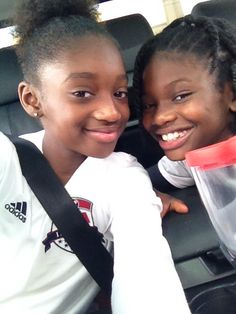 Me and my BFF are headed to our soccer game!!!