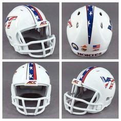 Riddell VIRGINIA TECH HOKIES Revolution POCKET PRO Mini Football Helmet