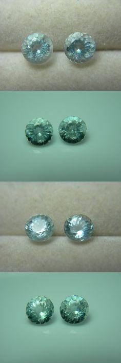 Beryl 110789: 2 Rare Stoneham Maine Aquamarine Gems Natural Untreated Aqua Blue Usa Gemstone R -> BUY IT NOW ONLY: $49.99 on eBay!