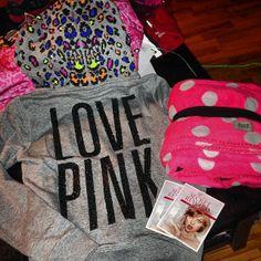 <3<3 victoria's secret LOVE PINK hoodie!