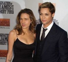 Brad Pitt and Angelina Jolie face swap.