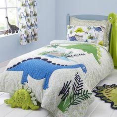 Dinosaur toddler Bed Set – Home Bedroom Ideas Dinosaur Room Decor, Dinosaur Toddler Bedding, Dinosaur Bedroom, Toddler Rooms, Linen Bedding, Bedding Sets, Bed Linens, Folding Bed Frame, Pottery Barn Teen Bedding