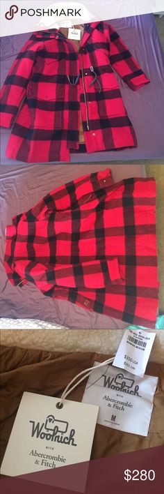 Woolrich winter coat NWT Woolrich authentic wool winter coat Woolrich Jackets & Coats