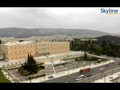 Live webcam from Athens - Time Lapse