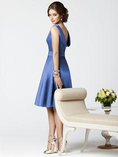Cornflower blue Dressy.. Brides maid style