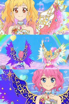 Aikatsu Stars! Ep.100 epilogue Japan's Nijino Yume VS England's Sakuraba Laura