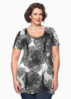 TS14 Plus | Plus Size Clothing | Tunics - CIRCLET TUNIC - TS14