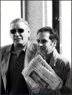 Roberto Coroneo con Gigi Riva, per quanto mi riguarda non c'è bisogno di aggiungere altro.
