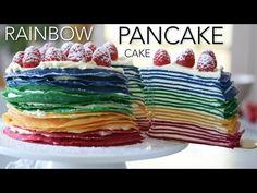 foodiesofsa   Rainbow Pancake Cake