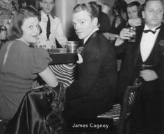 james cagney with bill At El Morocco, NYE