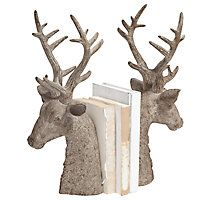 Home Accents Deer Bookend (Set of 2)