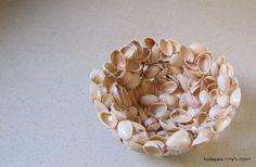 קערה מקליפות פיסטוקים Pistachio Shell Bowl