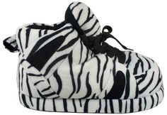 REALLY WANT THESE!!! MOMMY I KNOW YOU CAN SEE THIS! Snooki Signature Zebra Print Slippers $24.00