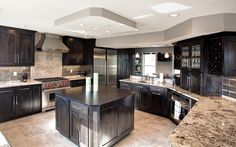 Kitchen & Powder Room Remodel // Martin Brothers Contracting // Custom Home Builder of Elkhart County