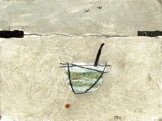 David Pearce  Title: Boat & Buoy  Giclee Print, edition of 250  15x10cm