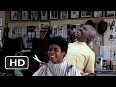Boxing discussion in Coming to America. Get a load of Cuba Gooding Jr. in barber chair.