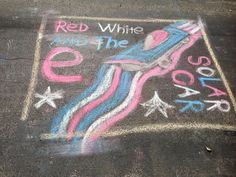 The Red, White, & The e