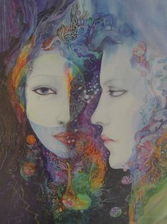 Goddess Looking Within by Helena Nelson-Reed