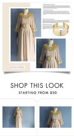 """Caftan Yosika 24"" by amra-mak ❤ liked on Polyvore featuring Belk Silverworks and caftanyosika"