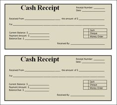 Cheque Receipt Template Commercialsalesreceipttemplate.gif 500×642  Sale Receipt .