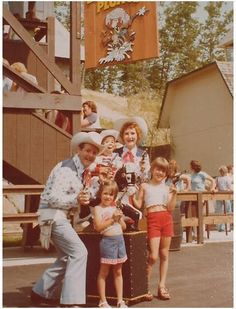 Storytown, USA - Desperado Plunge and Marshall Wild Windy Bill McKay