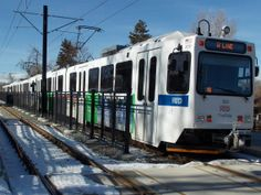 RTD - Denver light rail on the W Line, the newest line that opened in 2013.