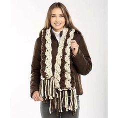 Premier® Tweed Crochet Scarf Free Download