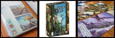 AEG has some fantastic games and Mystic Vale is a new family favorite! It is a deck building game, with twist! You build your cards as you build your ...