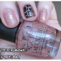 Polish for summer.  Teenage Dream by OPI