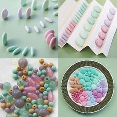 it's a clean machine: Color mixes for pastel beads  #Polymer #Clay #Tutorials