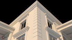Colt decorativ fatada salon nunti Videle Venus, Facade, Louvre, Villa, Exterior, Building, Travel, Design, Vintage