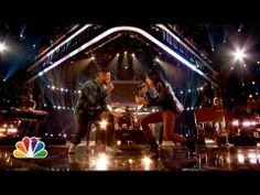 "Usher and Michelle Chamuel: ""One"" - #TheVoice"