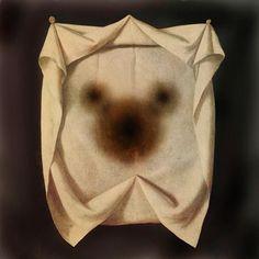 Apparition. (Canvas, 66 x 66 cm.) © Gustavo Charif 2004/2011.