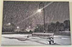 A Winter canvas