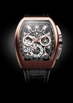 The sophistication and the modernity of the Vanguard™ Grande Date will easily seduce everyone.